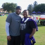 With Former NFL Great Ray Lewis