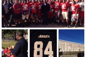 Geo giving back to local high school football team